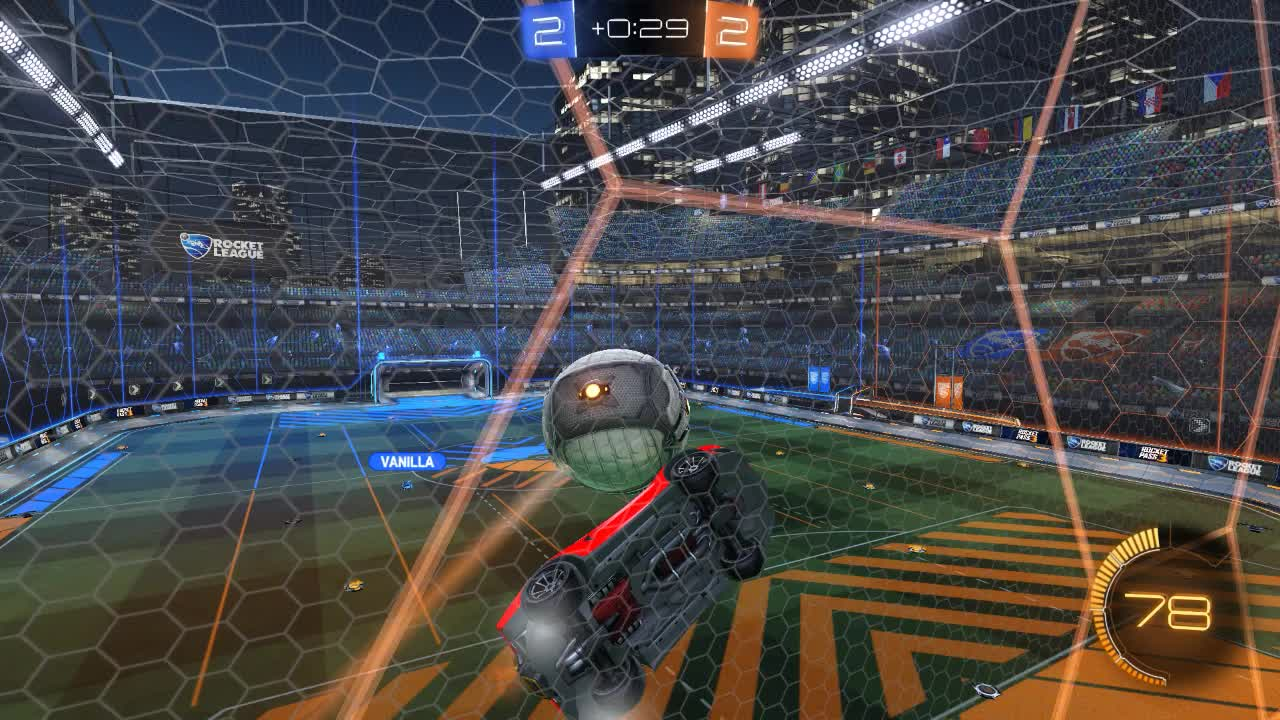 rocketleague, amusing bump goal GIFs