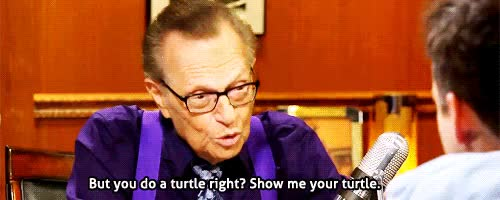Watch this larry king GIF on Gfycat. Discover more g, he stopped doing it after season one, jake johnson, jakejohnsonedit, larry king, new girl, ngedits, the classic turtle face GIFs on Gfycat
