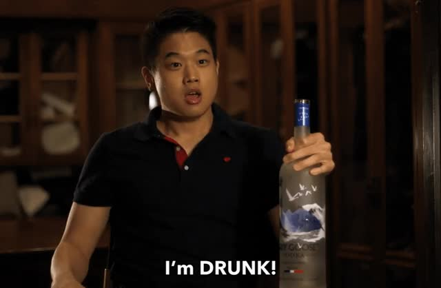 Watch this party GIF by The GIF Smith (@sannahparker) on Gfycat. Discover more Ki Hong Lee, asian bachelorette, drunk, party, wong fu productions, yelling GIFs on Gfycat