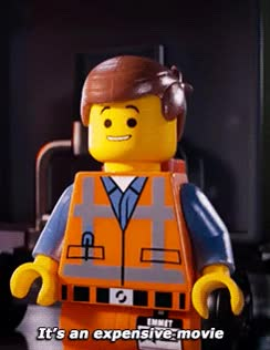 Watch and share Movie - The Lego Movie   Tags: Emmet (The Lego Movie) GIFs on Gfycat