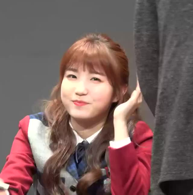 Watch 181116 IZONE Hitomi (1) GIF by My Gif Factory (@forever9diadem) on Gfycat. Discover more related GIFs on Gfycat