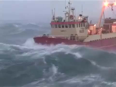 Watch and share Rough Seas Iceland GIFs by funzzila on Gfycat