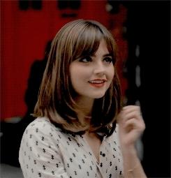 !, aug, clara oswald, doctor who, fave, jenna coleman, jennacoleman, jennalouisedaily, new, she's so cute, Sonder. GIFs