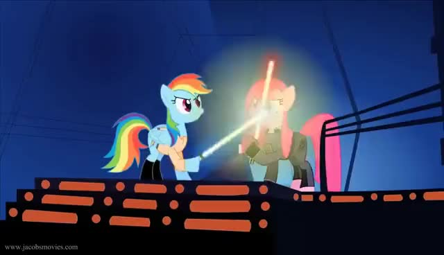 Watch and share Star Wars By Ponys GIFs on Gfycat