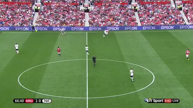 Mata play vs Spurs