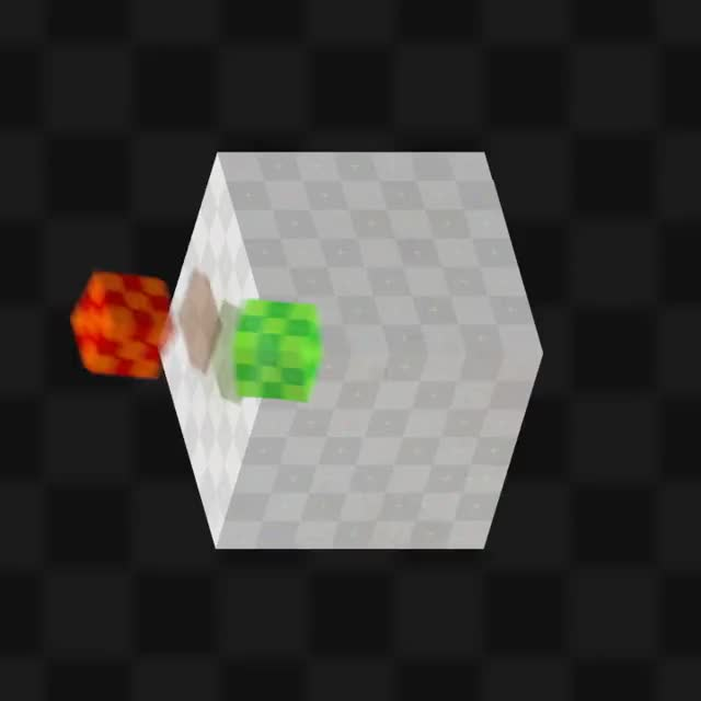 Watch Here is an optical illusion I animated. If you have trouble seeing it, try watching one bouncing box at a time. (reddit) GIF on Gfycat. Discover more MBUyt0n, woahdude GIFs on Gfycat