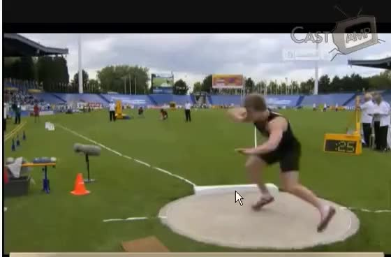 Watch and share Jacko Gill World Record 24,35m WYC Lille GIFs on Gfycat