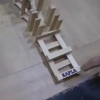 Watch and share Domino Tower GIFs by hahagyfcatsoundpleas on Gfycat