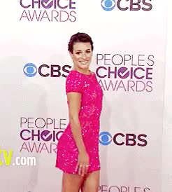 Watch and share Lea Michele GIFs and Red Carpet GIFs on Gfycat