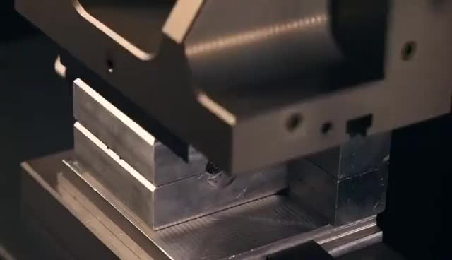 Watch and share Milling To Filling - DataPro Mills A Low-pressure Injection Mold GIFs on Gfycat