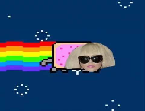 Watch and share Lady Nyanya GIFs and Lady Gaga GIFs on Gfycat