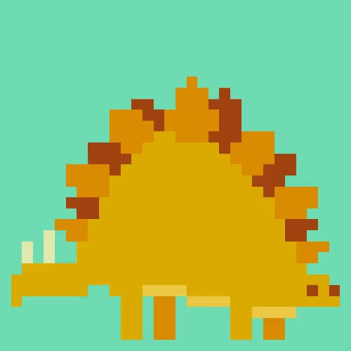 Watch and share 8bit Dino.gif GIFs by Streamlabs on Gfycat