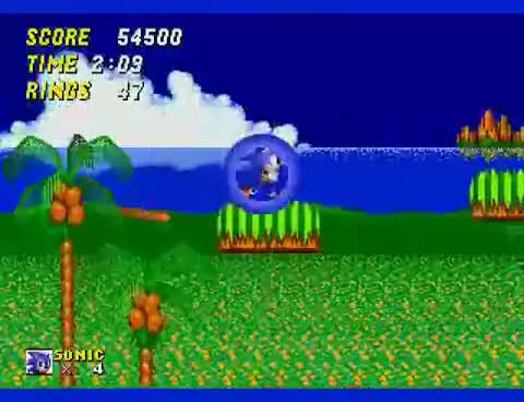 Watch and share Sonic The Hedgehog 2 - Emerald Hill Zone Part 1 GIFs on Gfycat