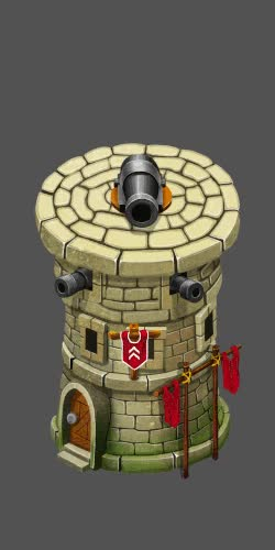 Watch and share Isometric Cannon Tower Defense GIFs on Gfycat