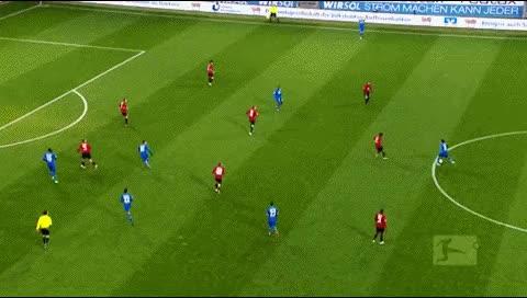 Watch and share Sejad Salihovic. Hoffenheim - Hertha Berlin. 2011-12 GIFs by fatalali on Gfycat