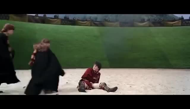 Watch and share Harry Potter 2 - Quidditch (Scène Culte) GIFs on Gfycat