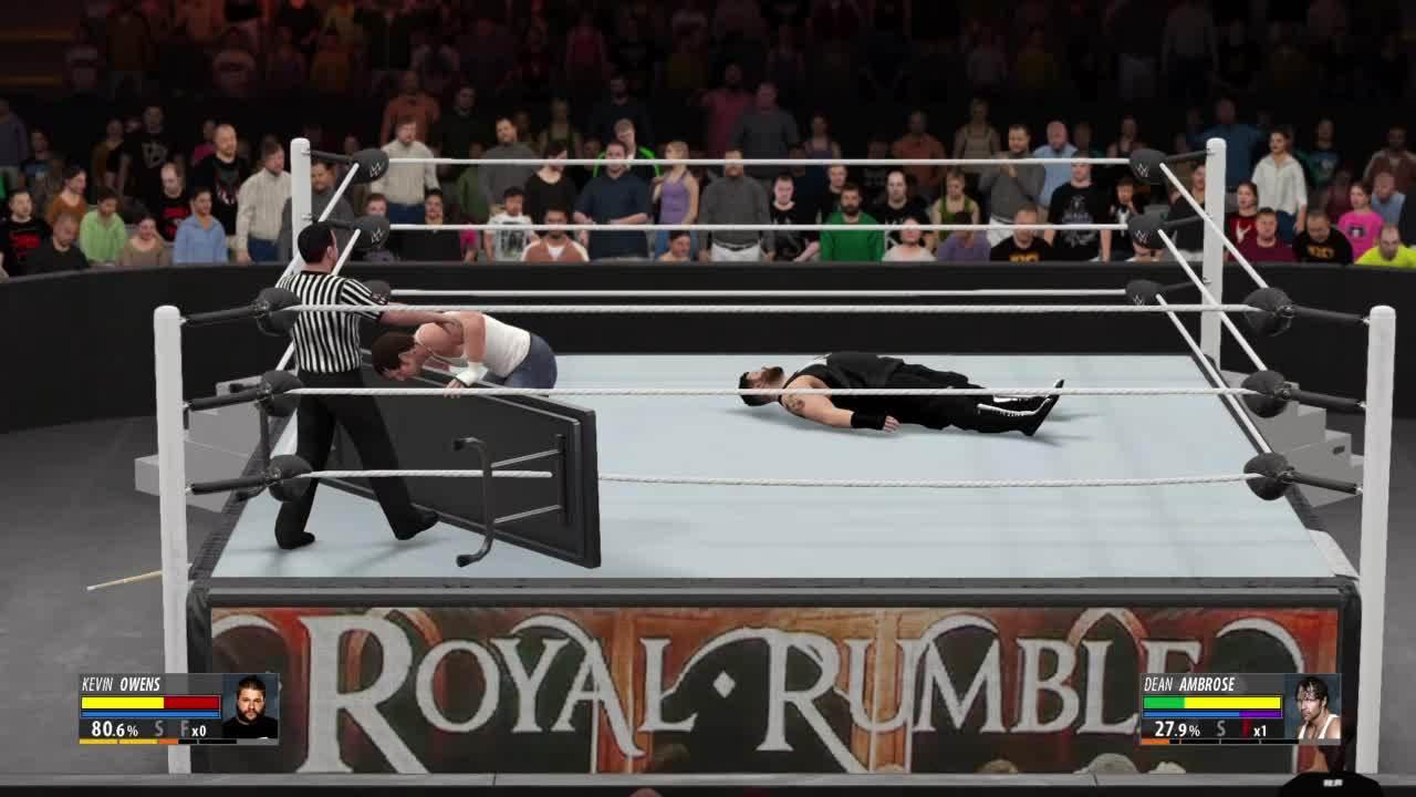 RoyalRumble, WWE, wwegames, #HeelRef GIFs