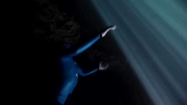 Watch and share Free Diver Guillaume Néry Takes Unparalleled Underwater Journey Beneath Ice Sheets. GIFs by GIFs For Everything on Gfycat