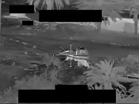 Watch Combat Video Iraq: Hellfire Strike on Enemy Vehicle (reddit) GIF by @forte3 on Gfycat. Discover more Airstrike, airstrike GIFs on Gfycat