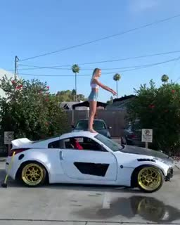 Watch and share Find Me On Instagram: Funnyclipfail  .WCGW If I Do A Backflip On Top Of A Short Vehicle? GIFs by Funnygifs on Gfycat