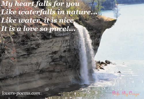 Waterfalls Love Gif Find Make Share Gfycat Gifs