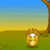 Watch and share Revenge Turkey Day Happy Thanksgiving Ax Axe Pilgrim Smileys Smilies Animated Animation Animations Gif Gifs GIFs on Gfycat