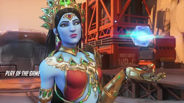 Watch and share Overwatch GIFs and Symmetra GIFs by BigCat on Gfycat