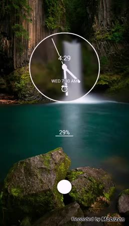 androidthemes, Kustom - Nature Blur GIFs