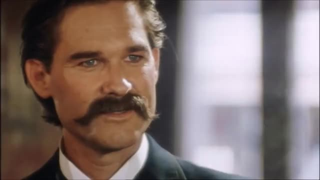 Tombstone A Scene From The Classic Western Kurt Russell And Billy