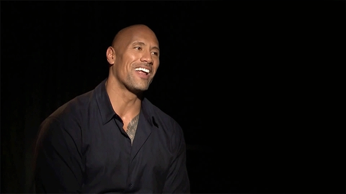 Dwayne Johnson, haha, hahaha, lol, Laughing GIFs