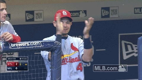 applause, baseball, clap, clapping, respect, slow clap, yadier molina, Yadier Molina Clapping GIFs