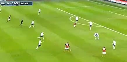 Mario Balotelli Longshot against Bologna GIFs