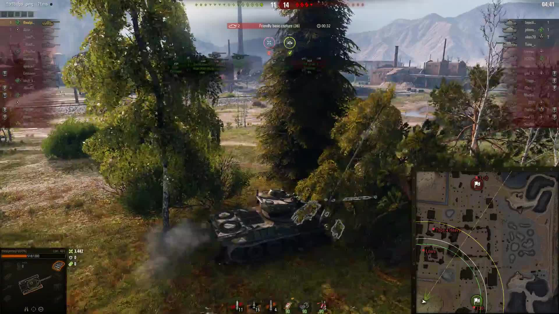 WorldofTanks, love it when people cap in the open GIFs