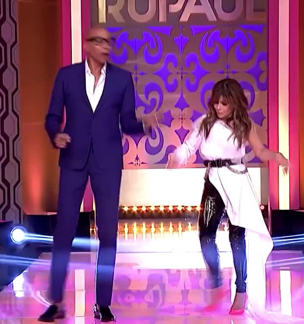 abdul, amazing, awesome, bff, celebrate, dance, dancing, excited, friends, happy, party, paula, rupaul, saturday, success, together, weekend, with, woohoo, 'RuPaul' with Paula Abdul! GIFs