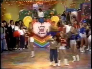 Watch and share Garota Atrapalhada Dança Lua De Cristal (Xou Da Xuxa 1990) GIFs on Gfycat
