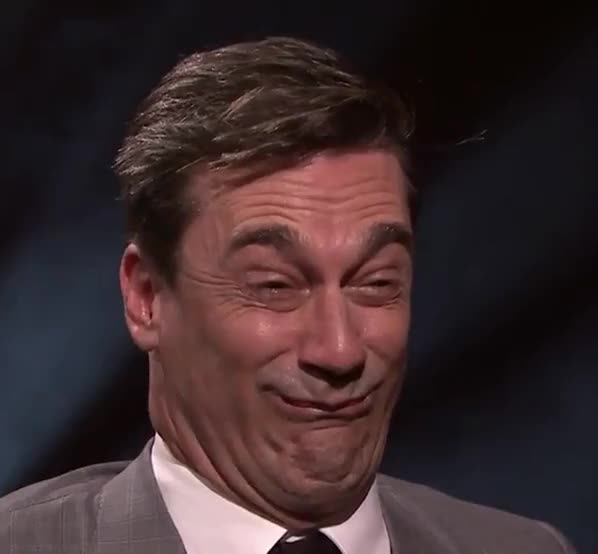 Watch and share Jon Hamm GIFs by Reactions on Gfycat