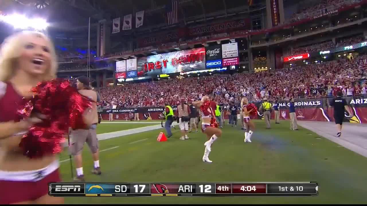 football, nfl, Arizona Cardinals cheerleaders GIFs