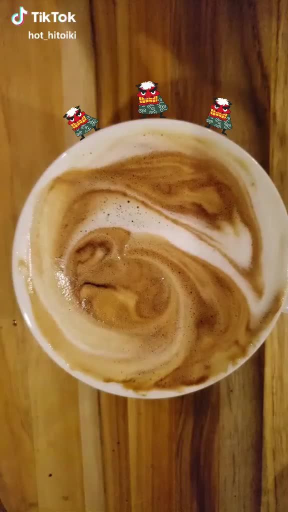 Watch and share Spiderman Latte Art GIFs by camdynsp on Gfycat