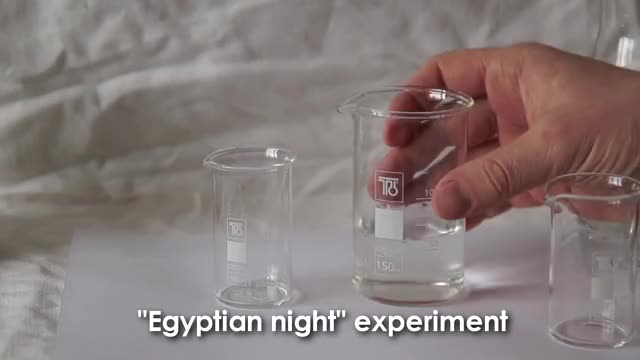 Watch Egyptian Night! GIF by GIFs For Everything (@jiffiergifss) on Gfycat. Discover more awesome, burning, chemistry, clock reaction, compilation, experiments, fluorescein, fluorescesce, golden rain, substance GIFs on Gfycat