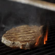 Watch and share PageLines-steak-turning-fire.gif - Liberty Park Grill In Clarksville TN GIFs on Gfycat