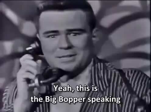 Watch and share Big Bopper - Chantilly Lace (1958) [High Quality Sound, Subtitled] GIFs on Gfycat