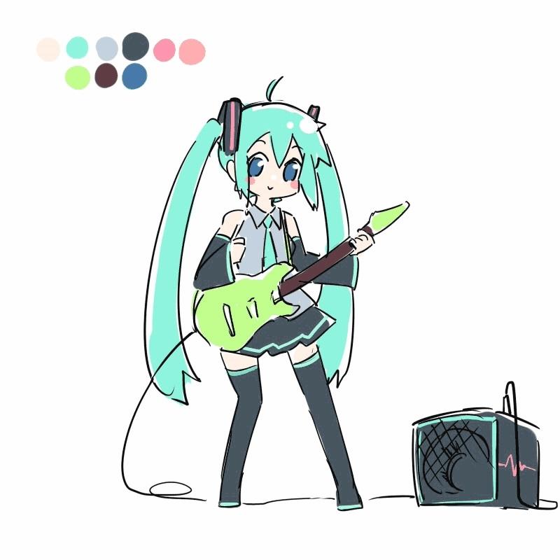 awwnime, Miku.gif [Vocaloid] GIFs