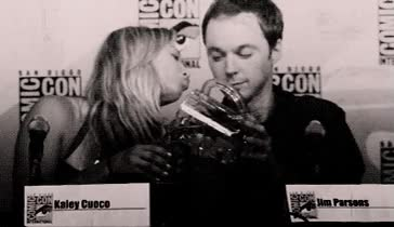 Watch and share Tbbt, Sheldon Cooper, Jim Parsons, The Big Bang Theory, Kaley Cuoco GIFs on Gfycat
