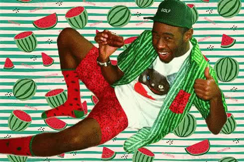Watch and share Tyler The Creator GIFs and Watermelon GIFs on Gfycat