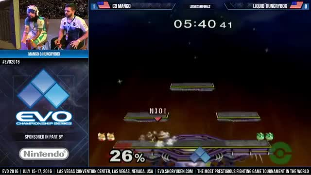 LS: Mango (Fox) vs. Hungrybox (Jigglypuff)