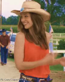 Watch and share Cowgirl Melissa • R/MelissaBenoist GIFs on Gfycat