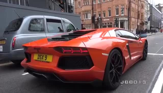 Watch and share Lamborghini Aventador LAUNCH CONTROL In The City!! GIFs on Gfycat