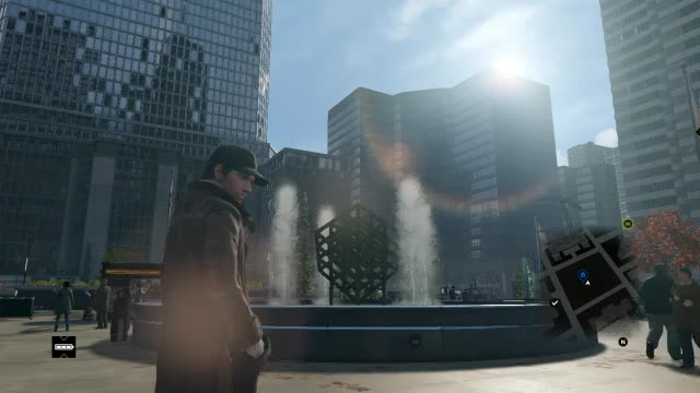 Watch and share Watch_Dogs Fountain GIFs by gavinuk86 on Gfycat