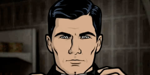 archer, deal with it, fx, sunglasses, Deal With It - Archer GIFs