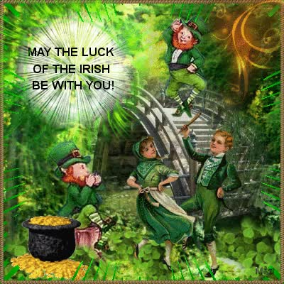 Watch and share May The Luck Of The Irish Be With You! GIFs on Gfycat